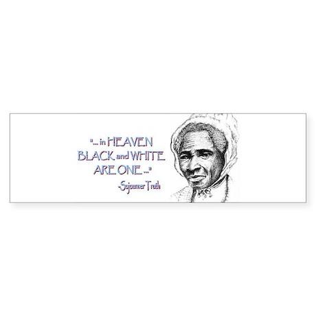 Truth with Quote Bumper Sticker