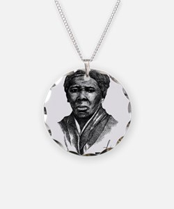 Tubman with Logo2 Necklace