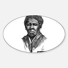 Harriet Tubman Sticker (Oval)