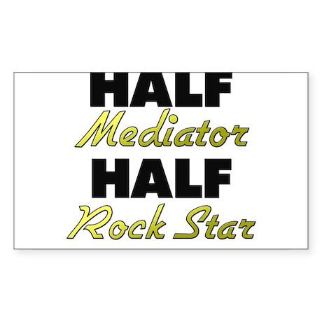 Half Mediator Half Rock Star Sticker