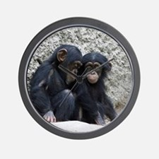 Chimpanzee002 Wall Clock