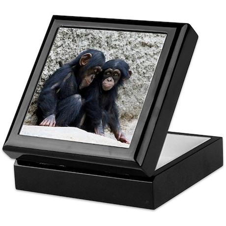 Chimpanzee002 Keepsake Box