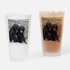 Chimpanzee002 Drinking Glass