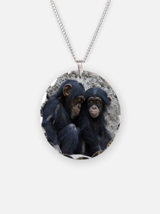 Chimpanzee002 Necklace