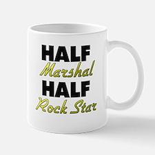 Half Marshal Half Rock Star Mugs