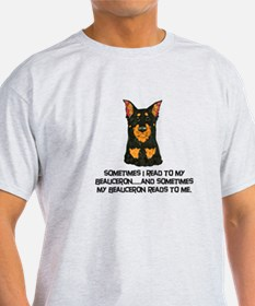 Beauceron Reader T-Shirt
