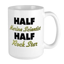 Half Marine Scientist Half Rock Star Mugs