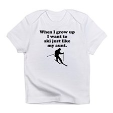 Ski Like My Aunt Infant T-Shirt