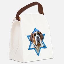 Hanukkah Star of David - St Bernard Canvas Lunch B