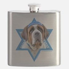 Hanukkah Star of David - St Bernard Flask
