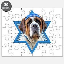 Hanukkah Star of David - St Bernard Puzzle