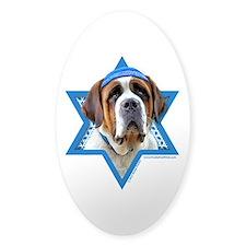 Hanukkah Star of David - St Bernard Decal