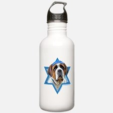 Hanukkah Star of David - St Bernard Water Bottle