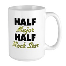 Half Major Half Rock Star Mugs