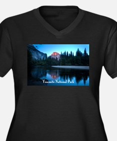 Half Dome sunset in Yosemite National Park Plus Si