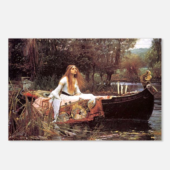 Lady of Shalott Postcards (Package of 8)