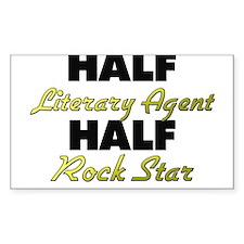Half Literary Agent Half Rock Star Decal