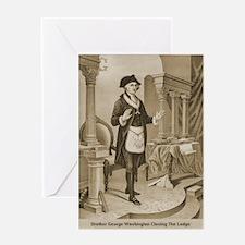 Brother Washington Greeting Card