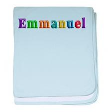 Emmanuel Shiny Colors baby blanket