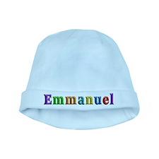 Emmanuel Shiny Colors baby hat