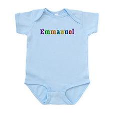 Emmanuel Shiny Colors Body Suit