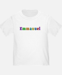 Emmanuel Shiny Colors T-Shirt
