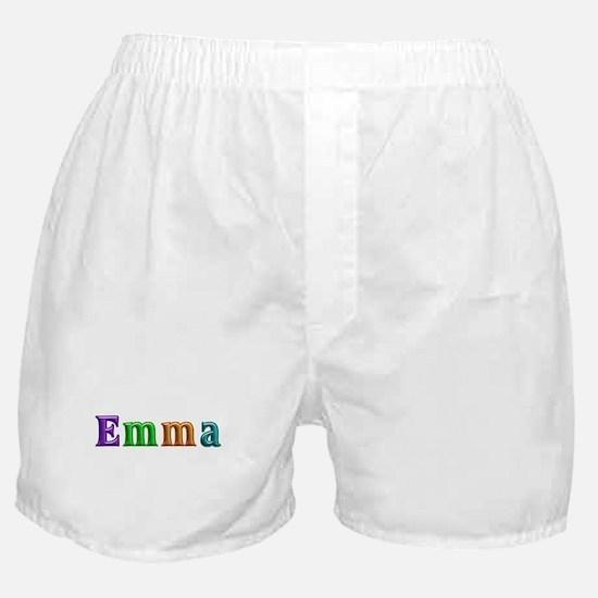 Emma Shiny Colors Boxer Shorts
