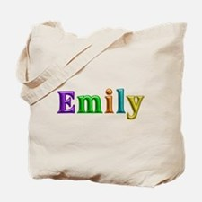 Emily Shiny Colors Tote Bag