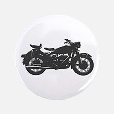 """Vintage Motorcycle 3.5"""" Button"""