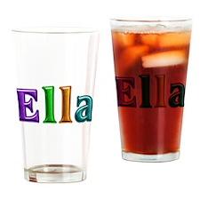 Ella Shiny Colors Drinking Glass