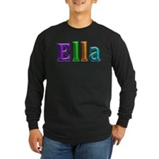 Ella Shiny Colors Long Sleeve T-Shirt