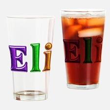 Eli Shiny Colors Drinking Glass