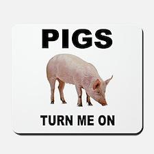 PIG FAN Mousepad