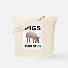 PIG FAN Tote Bag