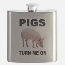 PIG FAN Flask