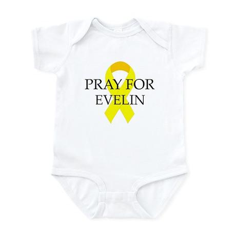 Pray for Evelin Infant Bodysuit