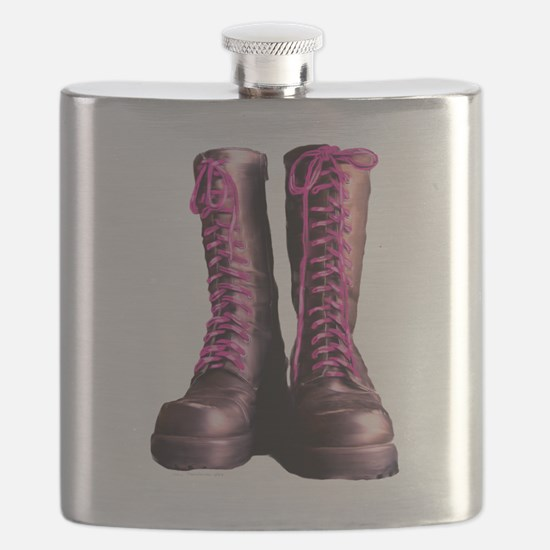 Pink Laces Flask