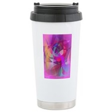 Eggplant Fairy Art Travel Mug