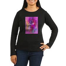 Eggplant Fairy Art Long Sleeve T-Shirt
