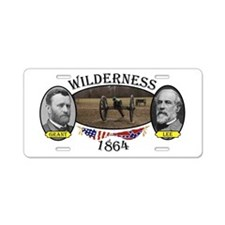 Wilderness Aluminum License Plate
