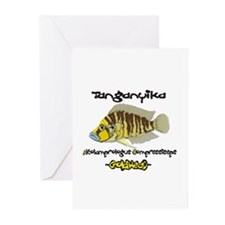 """""""GoldHead"""" Compressiceps Greeting Cards (Package o"""