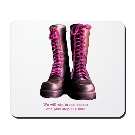 Pink Steps Mousepad