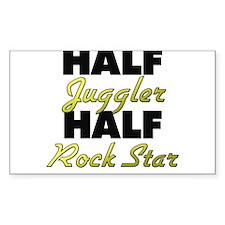 Half Juggler Half Rock Star Decal