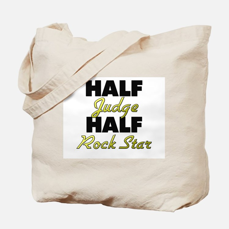 Half Judge Half Rock Star Tote Bag