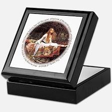 Lady of Shalott Keepsake Box