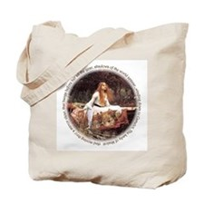 Lady of Shalott Tote Bag