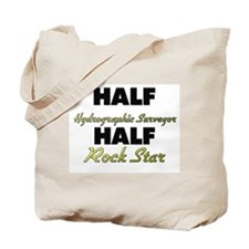 Half Hydrographic Surveyor Half Rock Star Tote Bag