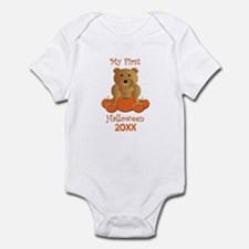 My First Halloween Customizable Year Infant Bodysu