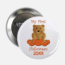 "My First Halloween Customizable Year 2.25"" Button"