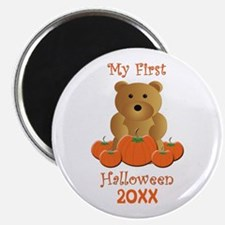 My First Halloween Customizable Year Magnet